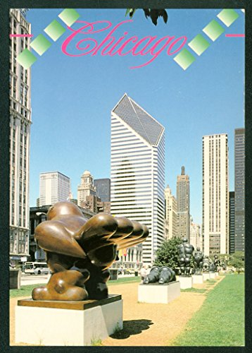 Downtown Chicago ART SCULPTURES Statues Institute BOTERO Continental - Chicago State Street Downtown