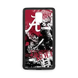 Onshop Custom Alabama Crimson Tide Phone Case Laser Technology for Samsung Galaxy Note 4