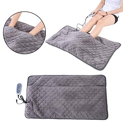 s with Timing Function, Long-Lasting and Soothing Heating Pads, Comfortable Heating pad relieves Pain with Temperature Levels Quick Heating Technology, Washable ()