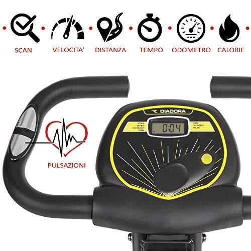Bicicleta estática Diadora Smarty