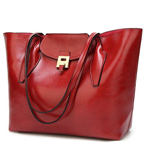 Women's Purses and Handbags Ladies Satchel Designer Totes Shoulder Bags (Magazine Tote Womens Medium Handbag)