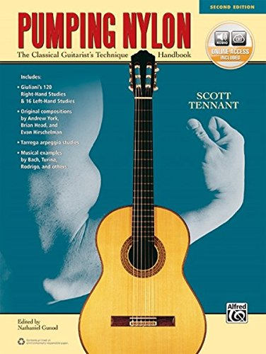 Pumping Nylon: The Classical Guitarist's Technique Handbook, Book & Online Audio (Pumping Nylon Series) by Alfred