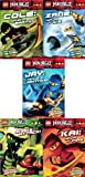 img - for LEGO  Ninjago Chapter Books Pack: Kai: Ninja of Fire / Snake Attack / Zane: Ninja of Ice / Cole: Ninja of Earth / Jay: Ninja of Lightning book / textbook / text book