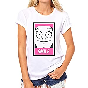 Bobs Burgers Tv Show Series Cartoon Louise Belcher Smile Face Icon Medium...