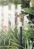 Rain Bird 25PJDAC Brass Impact Sprinkler, Adjustable 20° - 360° Pattern, 20 - 41 Spray Distance