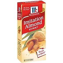 McCormick Imitation Almond Flavor, 2 oz (Pack of 6)