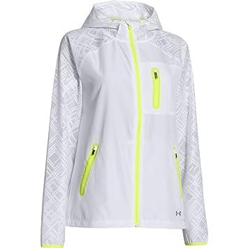 Under Armour Jacke Qualifier Lace Jacket - Chaqueta de running para mujer, color blanco, talla M: Amazon.es: Deportes y aire libre