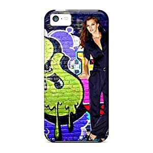 Hot YbREX1372ZQUFj The Coolest Cat In The World Tpu Case Cover Compatible With Iphone 5c