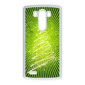 LG G3 Cell Phone Case White_Christmas tree (3) Jqaae
