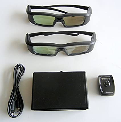 any projector with 3 pin VESA Optoma 3DXL 3D Kit for MITSUBISHI,SAMSUNG DLP