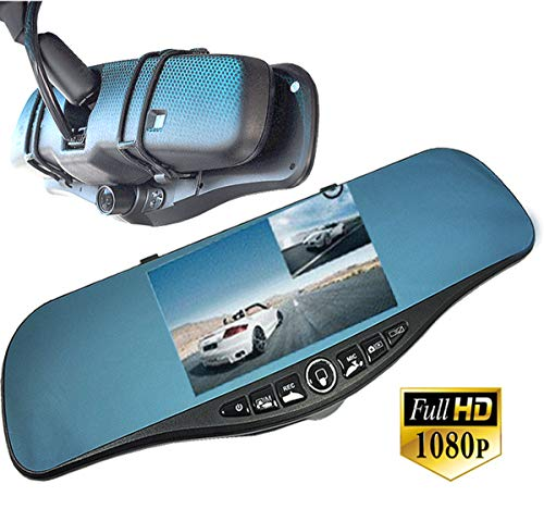 Pontiac Vibe Turbo - ICBEAMER Rear View Mirror 1080P FHD DVR Car Camera Recorder 5