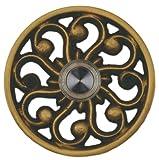 Waterwood Solid Brass Veda Doorbell in Antique Brass