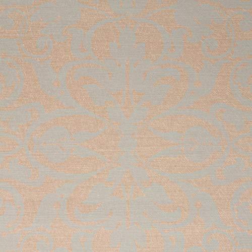 Swirls, Beige/Gray Damask Modern Wallpaper for Walls - Double Roll - by Romosa Wallcoverings LL7564