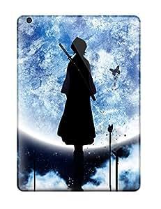 Ipad Air Kuchiki Rukiya Moon Bleach Anime Bleach Print High Quality Tpu Gel Frame Case Cover