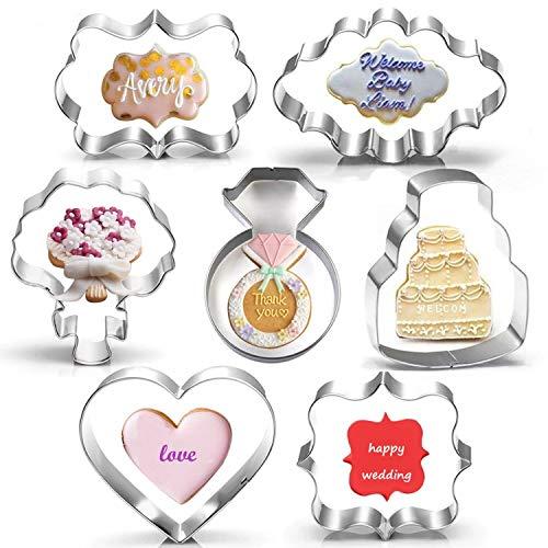 Wedding Cookie Cutter Set-3.5