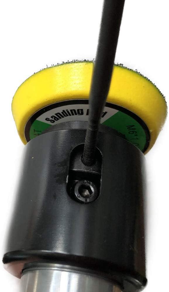 KKmoon 2 pouces bricolage pneumatique l/éger polisseur pneumatique polisseuse excentrique ponceuse AT133-2