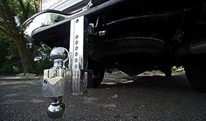 Flash 8 Adj Solid Tow Aluminum BM 2 /& 2 5//16 Chrome Balls