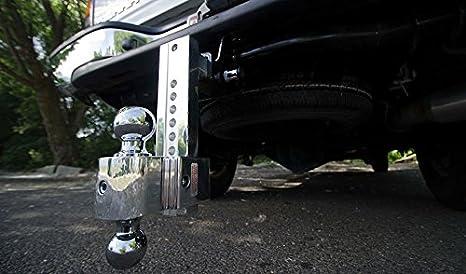 Flash 6 Adj Solid Tow Aluminum BM 2 /& 2 5//16 Chrome Balls