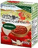 ナガノトマト イタリアの畑から ていねいにつくったトマトのソース 基本の味わい 390g×3個
