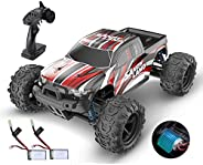 DEERC RC Cars 9300 High Speed Remote Control Car for Kids Adults 1:18 Scale 30+ MPH 4WD Off Road Monster Truck