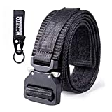 "MOZETO Tactical Belt Velco, 1.5"" Military Style EDC"