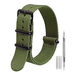 Image of the product Ritche 22mm NATO Strap that is listed on the catalogue brand of Ritche.