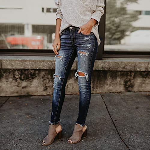 Nero Donna Jeans Impero Jeanshosen Itisme qwFg6TI
