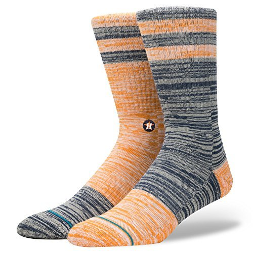 Houston Astros Socks - Stance Men's Astros Greystone Socks Orange M