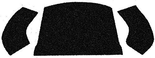 (EMPI 3997 56-72 Bug & Super Beetle Convertible Rear Well Carpet Kit, 3-Piece,)