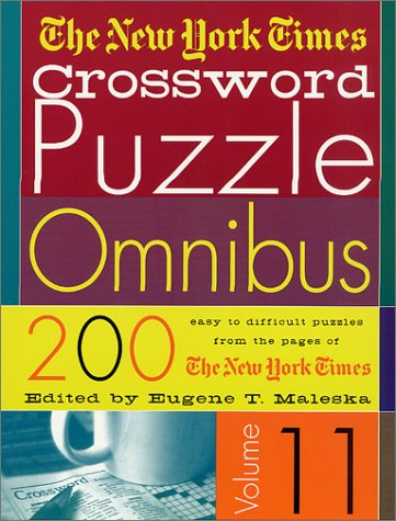 Download The New York Times Crossword Puzzle Omnibus Vol. 11 PDF