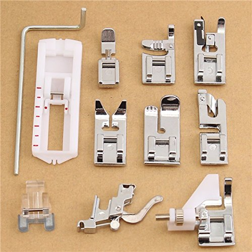 11pcs Presser Foot Set for Husqvarna Viking Sewing Machine