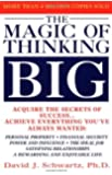 By David Schwartz - The Magic Of Thinking Big (1st Edition) (3.3.1987)