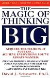 By David Schwartz - The Magic Of Thinking Big (1st Edition) (3.3.1987)