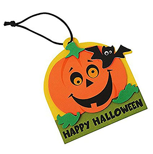Happy Halloween Ornament Craft Kit ~ Makes 50