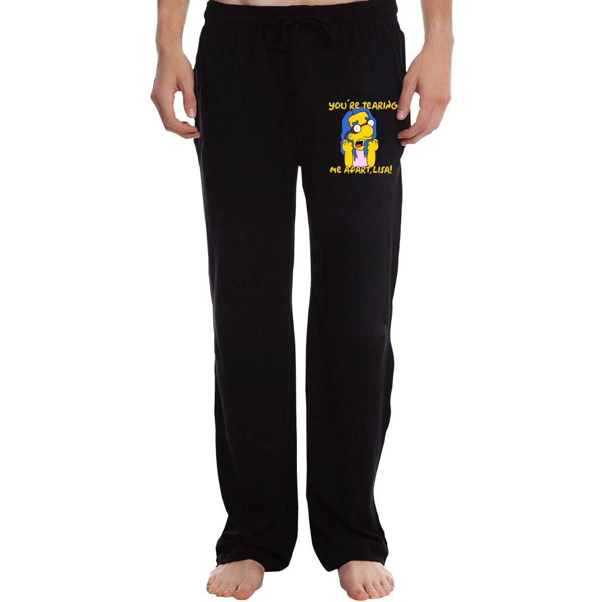 KWZ44 Tearing Me Apart Mens Sweatpants Extra Long CottonSleep Pants for Mans