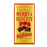 Whittaker's 33% Cocoa Berry and Biscuit 250g