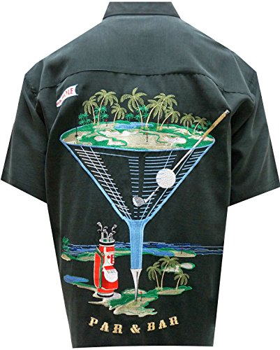 Bamboo Cay Men's Par and Bar (X-Large, Black) by Bamboo Cay (Image #2)