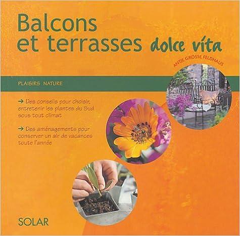 Livre gratuits en ligne Balcons et terrasses méditerranéens pdf, epub