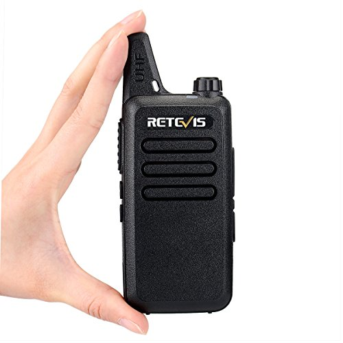 Retevis RT22 Two Way Radio 16 CH VOX 400-480MHz CTCSS/DCS Rechargeable Walkie Talkies(10 Pack) and Programming Cable by Retevis (Image #7)
