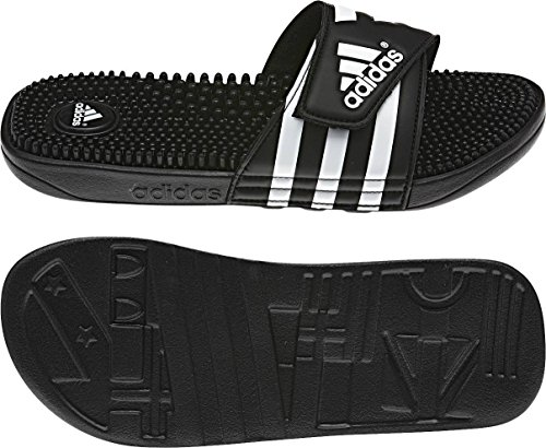 Adidas Adissage Tongs Homme Noir/Blanc