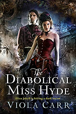 book cover of The Diabolical Miss Hyde