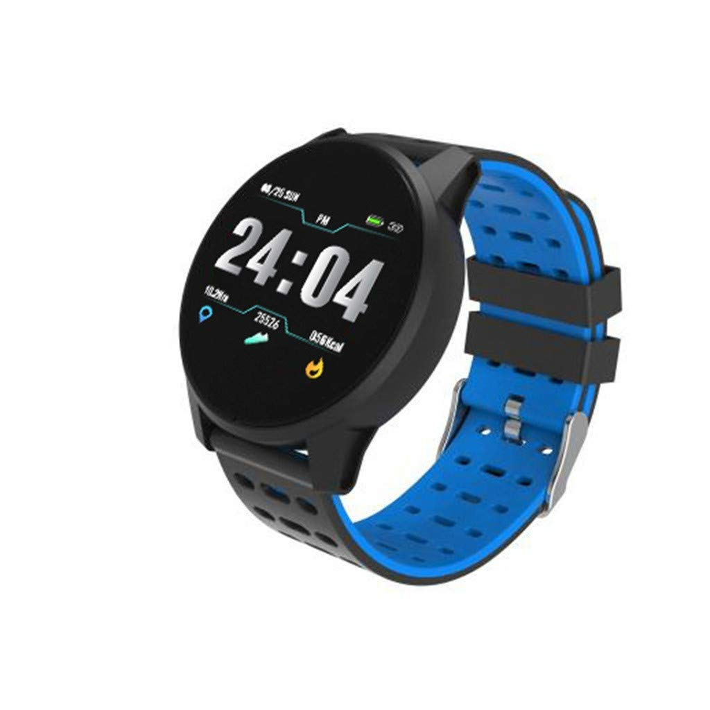 Smart Watches for Men Waterproof, Waterproof Sport Smart Watch Heart Rate Blood Pressure Monitor for iOS Android for Father Men Student Youth Teens Boyfriend Lover's Birthday Anniversary