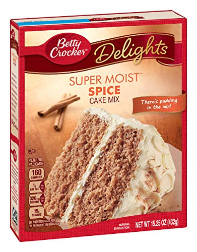 Spice Cake Mix - Betty Crocker Super Moist Cake Mix Spice 15.25 oz Box