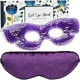 Gel Eye Mask for Puffy Eyes - Reusable Cooling Eye Mask for Dark