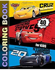 Cars 3 Coloring Book for Kids: Coloring Books for Boys and Girls Ages 2+ (40 Illustrations)