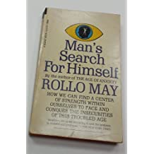 Man's Search for Himself by Rollo May(August 1, 1967) Mass Market Paperback