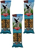 Kaytee Forti-Diet Pro Health Rabbit Treat, Honey Treat Stick Value Pack, 8-Ounce (3 Packages/6 Sticks)