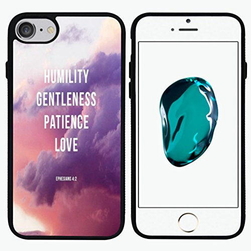 Cooliphone4Cases.com-2573-Minffc Unique With Ephesians 4 12 Humility Gentleness Patience Love Protective Case Cover For Iphone 7 4.7 Inch-B01LXWEBIC-T Shirt Design