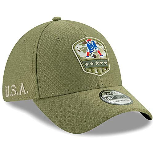 New Era NFL 2019 Salute to Service Adjustable 39Thirty 3930 Hat Cap