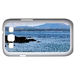lighthouse in loch indall scotland (Lighthouses Series) Watercolor style - Case Cover For Samsung Galaxy S3 i9300 (White)